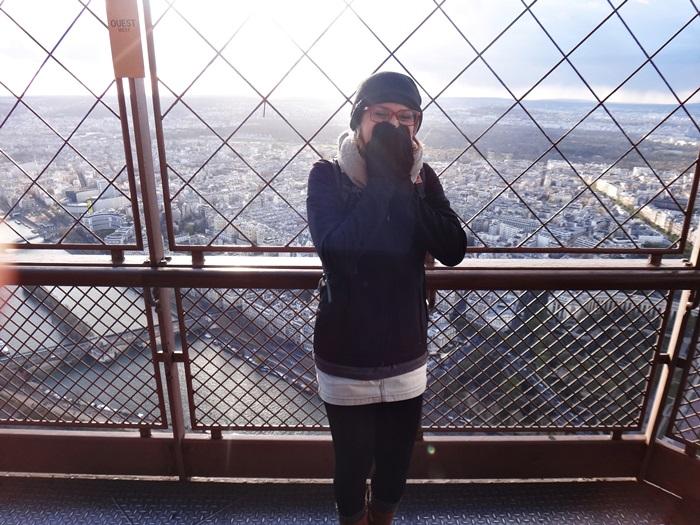 Na Torre Eiffel