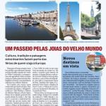Eu e Rick na Folha de São Paulo