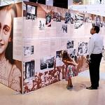 Exposição sobre Anne Frank em São Paulo
