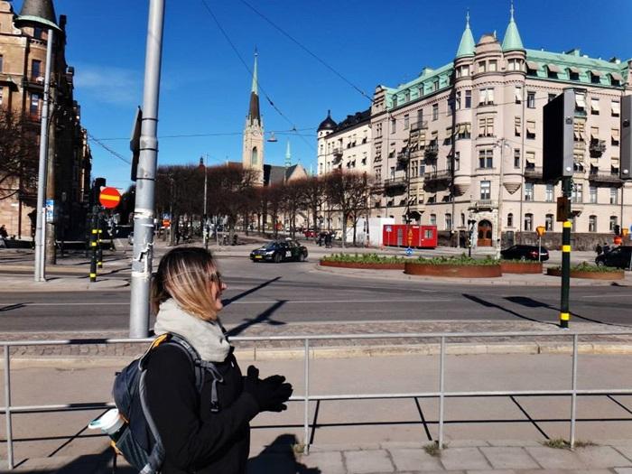 em Estocolmo - Suécia