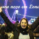 Meu Ano Novo em Londres