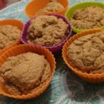 bolinhos de farinha de mandioca com leite de castanha e coco